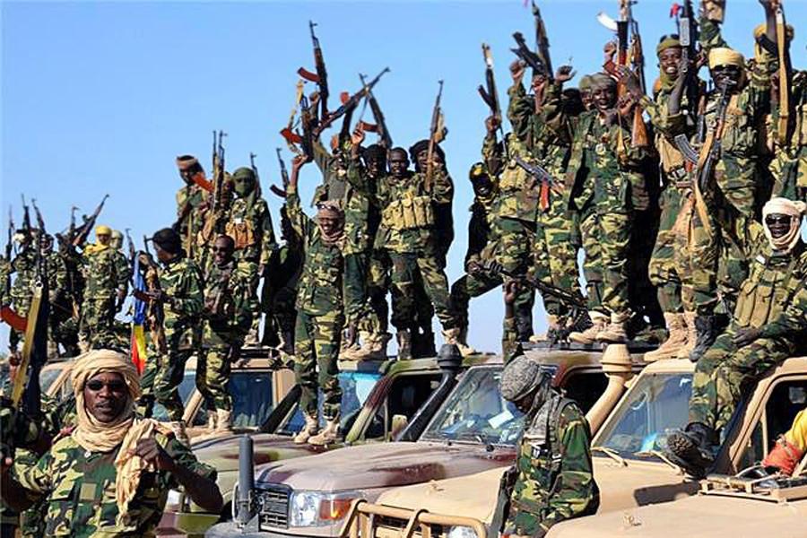 Военные из Чада