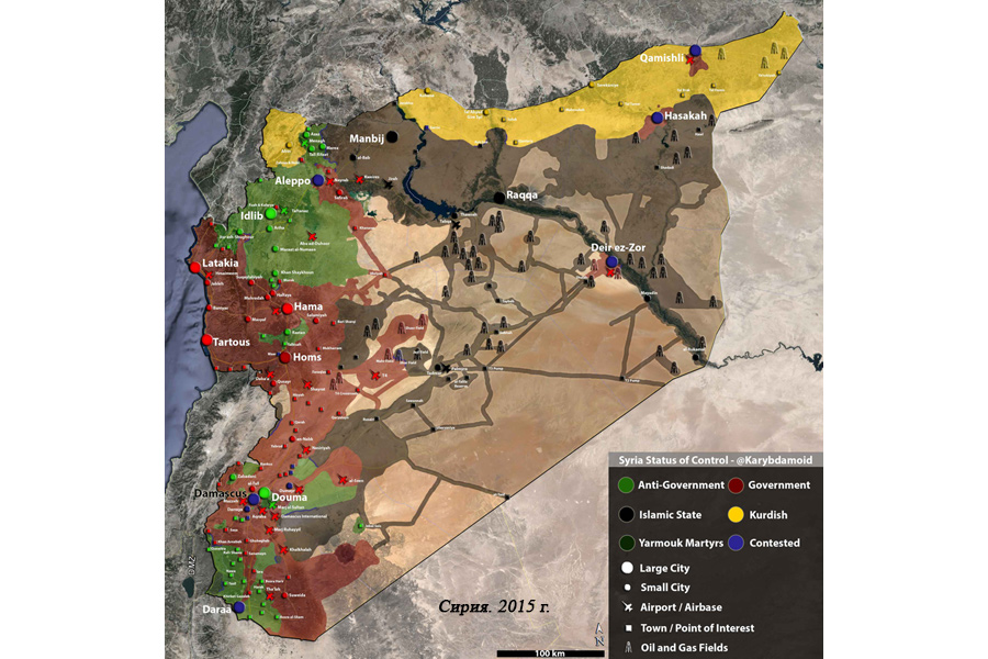 Сирия. 2015 г.