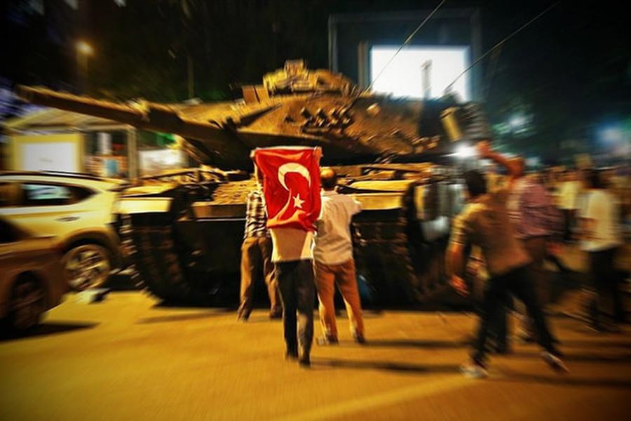 Госпереворот в Турции