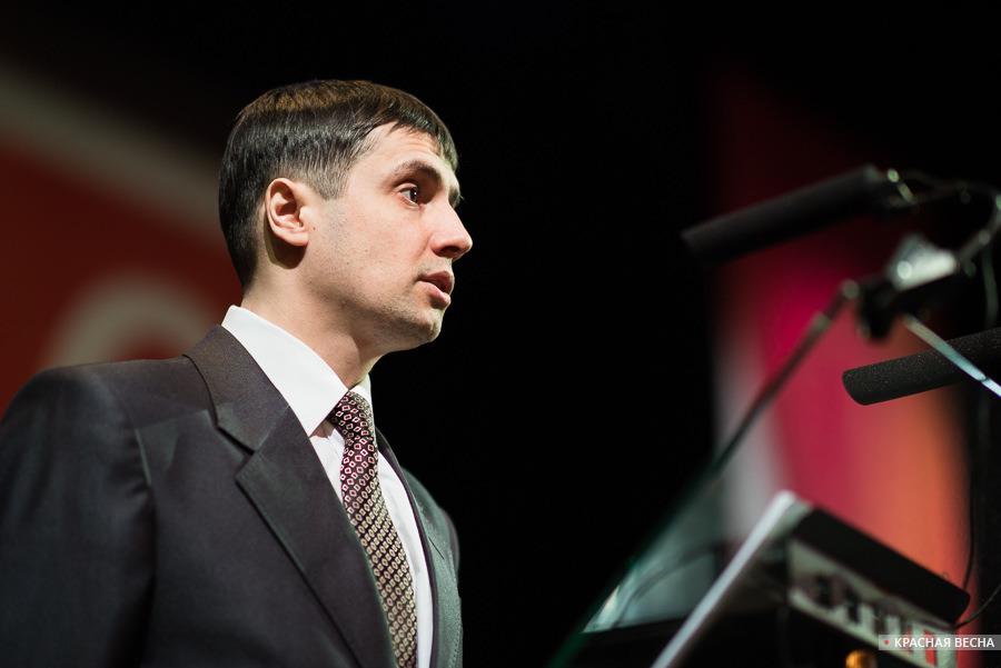 Алексей Мазуров на съезде РВС