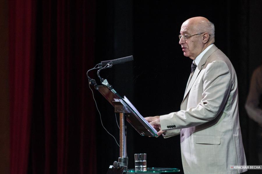 Сергей Кургинян на съезде РВС