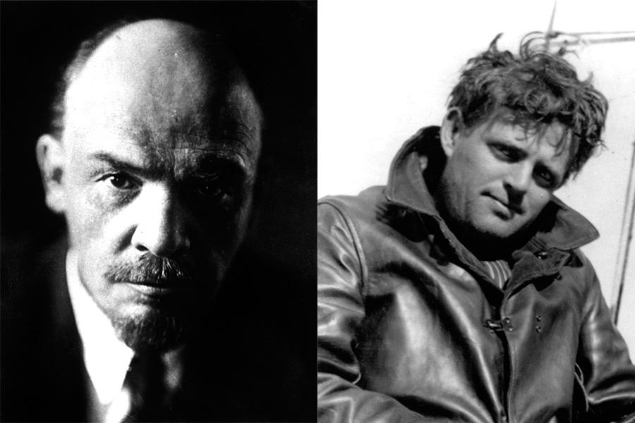 Владимир Ленин и Джек Лондон