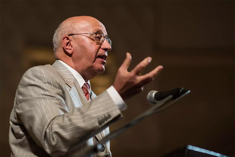 Сергей Кургинян на конференции «Октябрьская революция: мифы и реальность» в Самаре