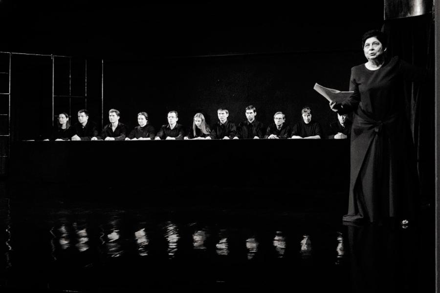 25 ноября, в 19.00 премьера спектакля «Стенограмма» в театре «На досках»