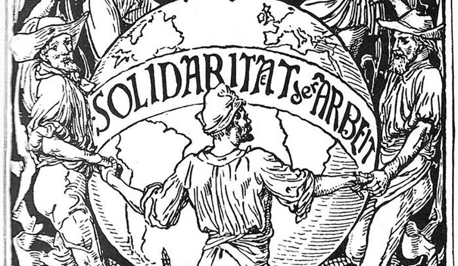 Уолтер Крейн. Солидарность трудящихся. 1890