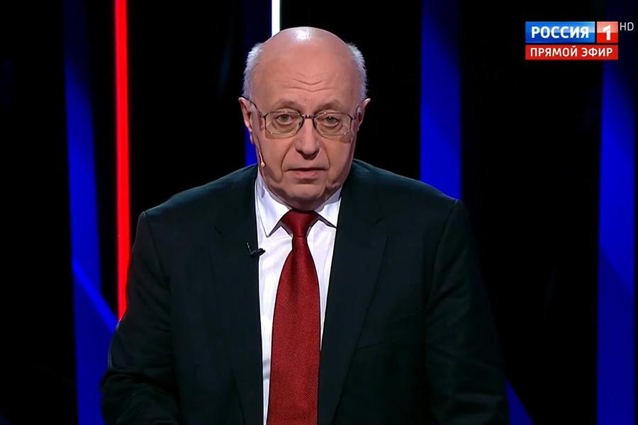 Сегодня, 9 октября, в 23:15 Сергей Кургинян в программе «Вечер с Владимиром Соловьевым» на России-1