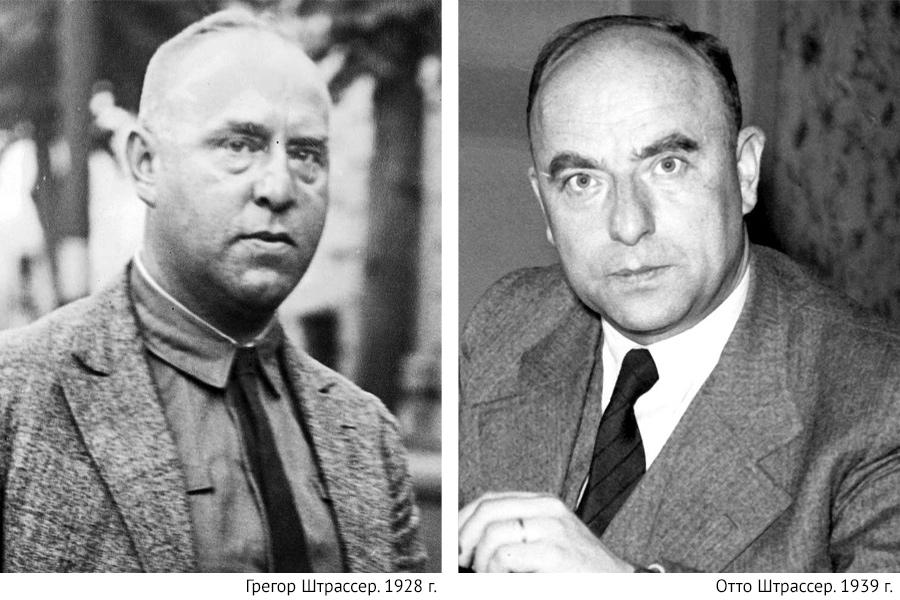 Братья Штрассеры: Грегор и Отто