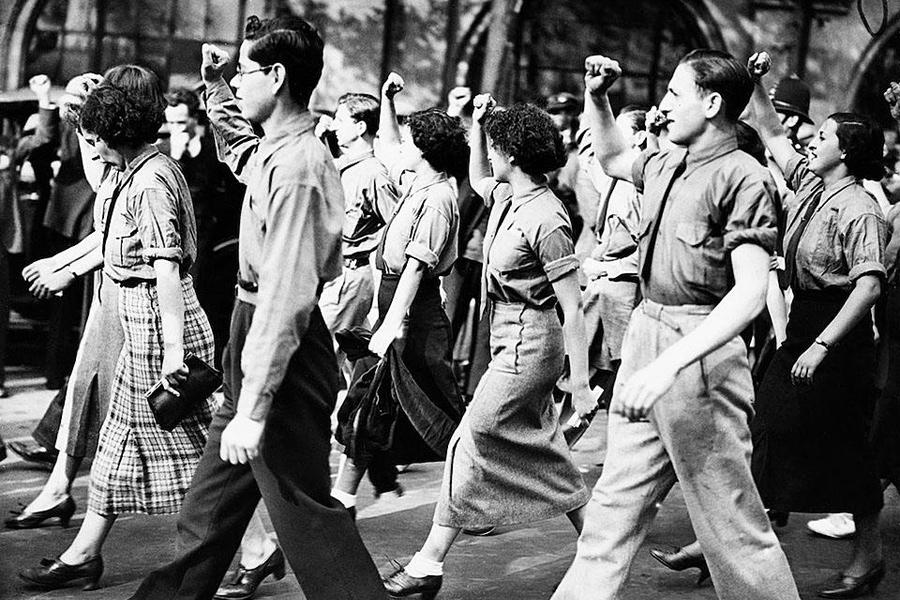 Шествие коммунистов в Лондоне