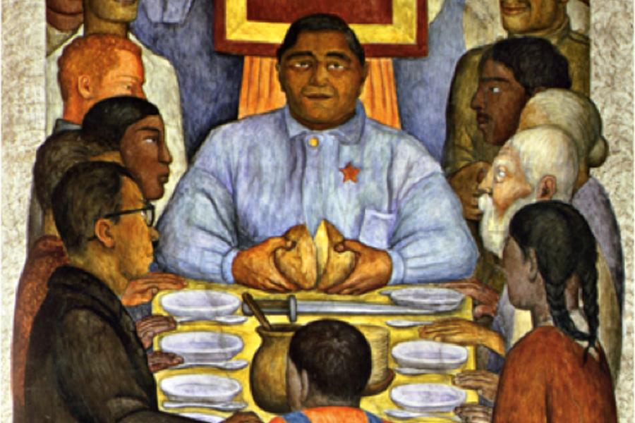 Диего Ривера — Наш хлеб, 1928