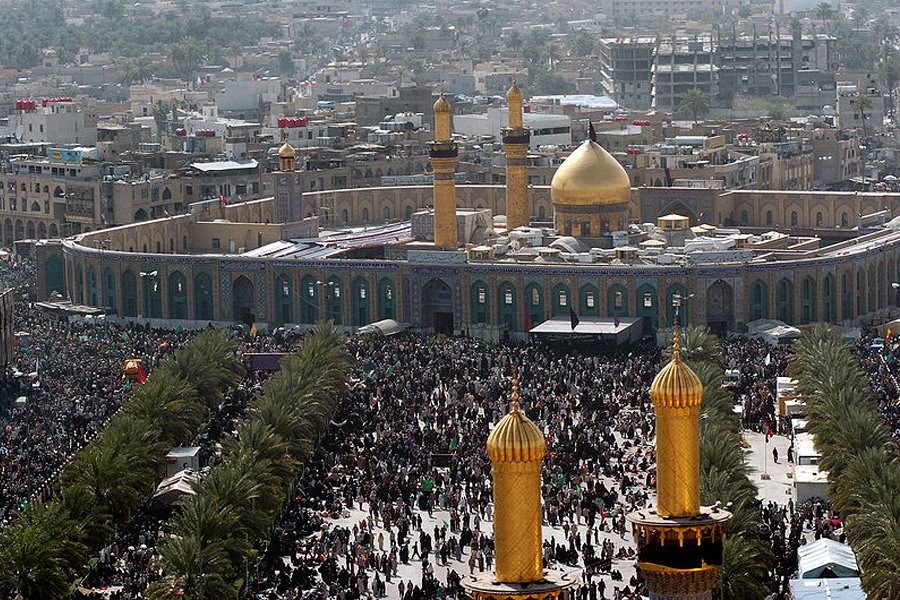 Мечеть Хусейна в Кербеле