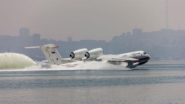 Россия поставит в США десять самолетов-амфибий Бе-200