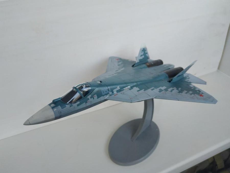 Российский Су-57 - F-16 эскадрильи Agressor ВВС США