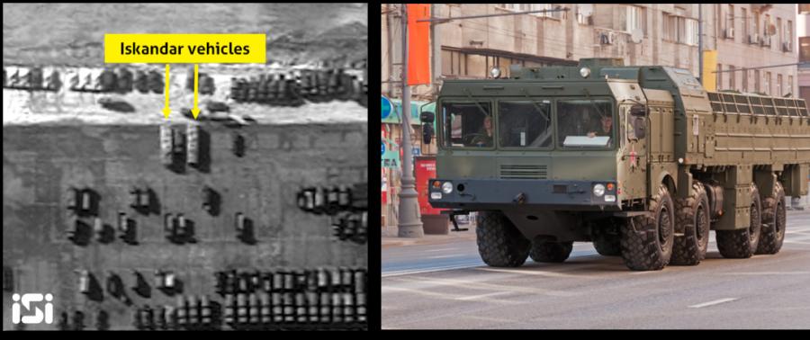 Израильский спутник обнаружил пусковые установки российских ракет «Искандер» в