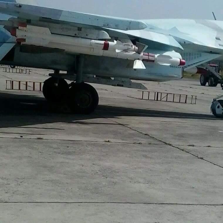 Свежие фото эфиопских Су-27, проданных Украиной
