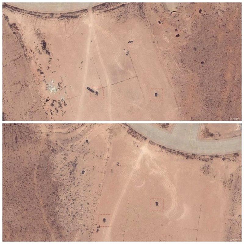 Боевые самолёты ВВС Ливийской национальной армии уничтожают ЗРК MIM-23 Hawk на