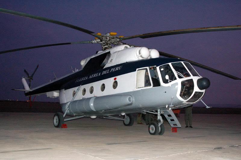 Украино-белорусско-российское сотрудничество по восстановлению вертолетов Ми-17 (-8) ВВС Перу (ФОТО)