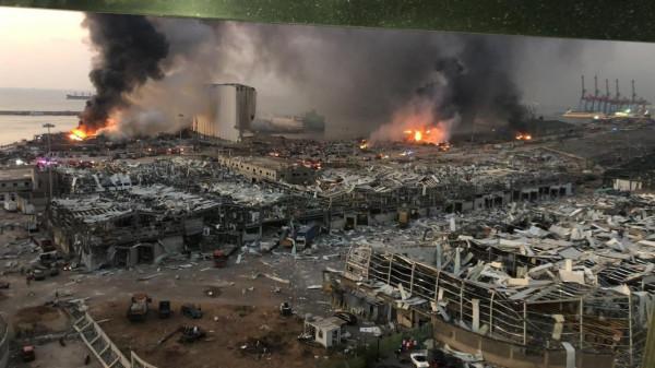 Бейрутского порта больше нет