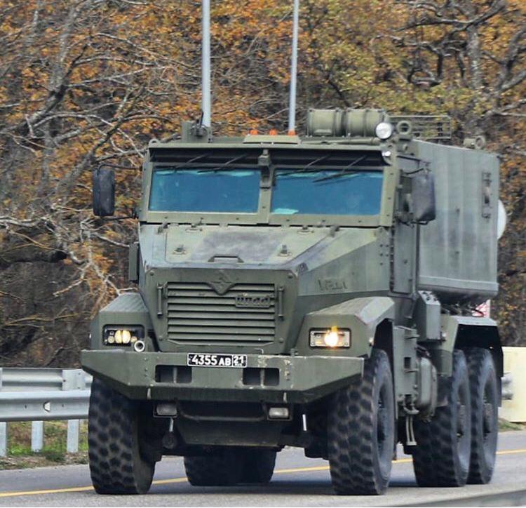 Стоимость защищенного автомобиля УРАЛ-63095 «Тайфун-У» - 730 тыс. евро