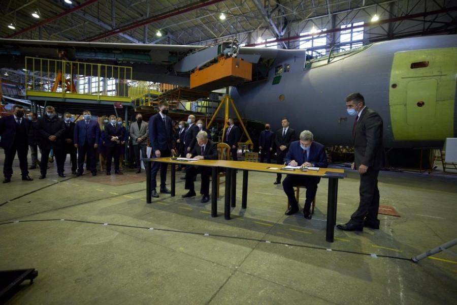 ГП Антонов будет строить три Ан-178 для МОУ на кредит под госгарантии с