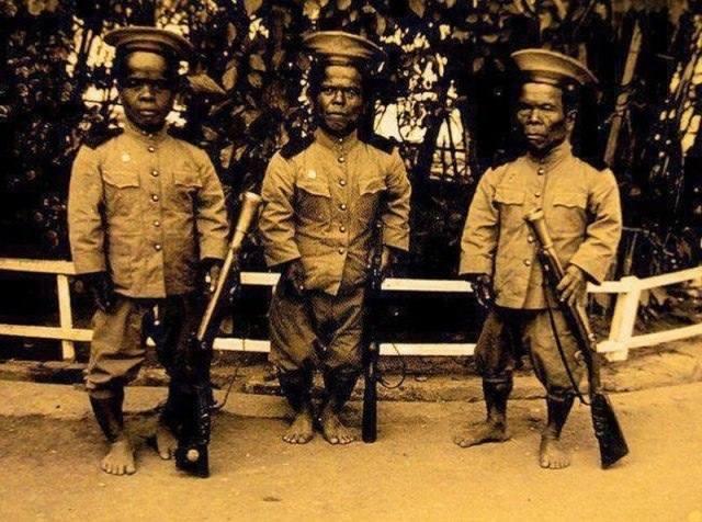 Королевские гвардейцы Сиама