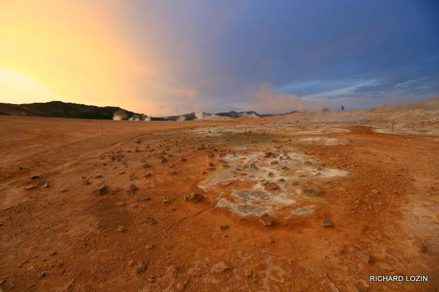 Серные поля Myvatn. Исландия