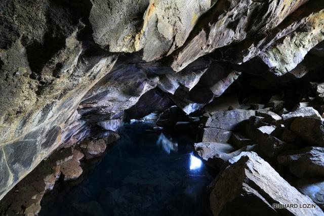 Пещера около Myvatn. Исландия