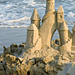 Elaborate sandcastle