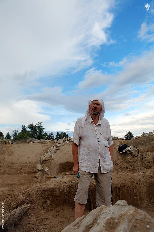 Археолог Н.Н. Николаев