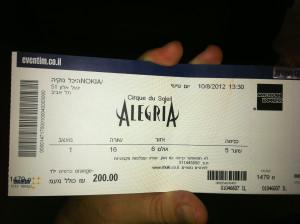 Allegria show