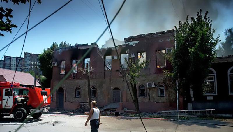гуманитарная катастрофа луганск