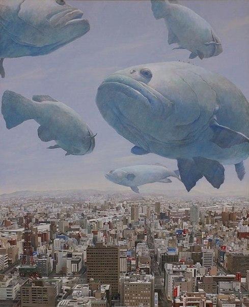 Жизнь - время обеда для больших космических рыб института демагогии и философии