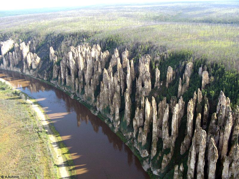 17 внешние конусы. каменный лес
