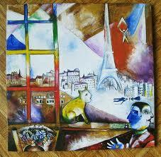 Париж в окне