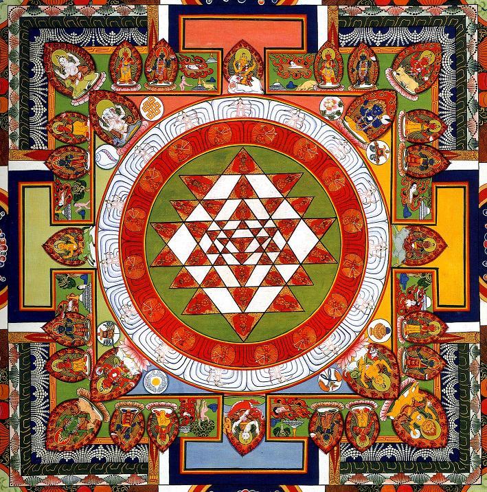 buddhist shri chakra
