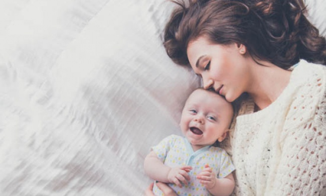 Мать сын дочь спящие