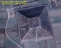 Китай пирамиды