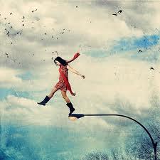 хожу по воздуху