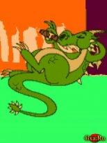 дракон курит