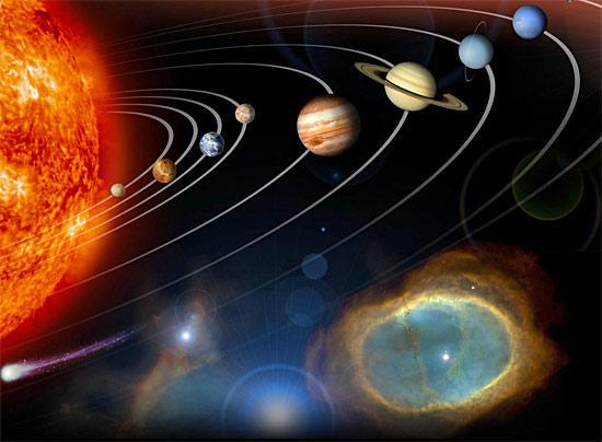 три планеты в ряд