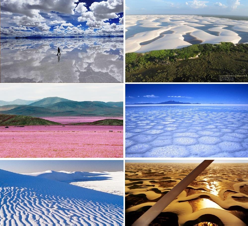 Столько разных пустынь на планете. Откуда они?
