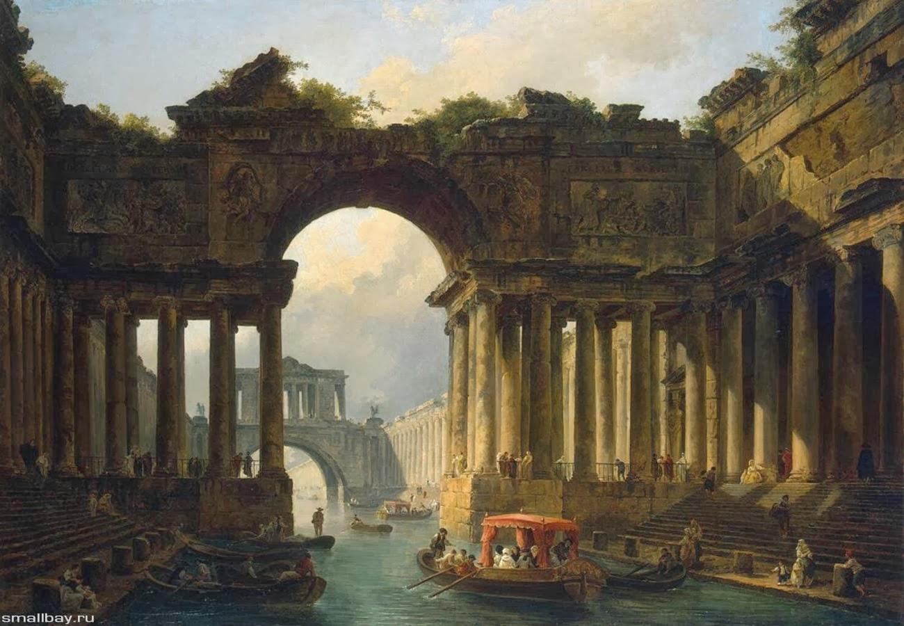 Заброшенные города минувших цивилизаций. Слияние и разделение веток реальности