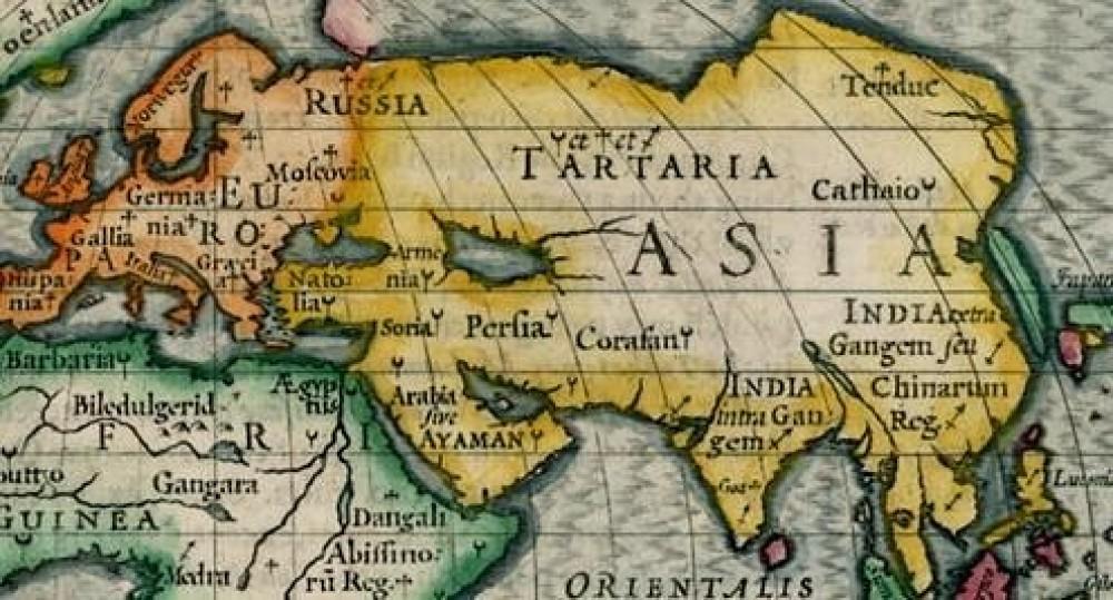 Великая Тартария Карта
