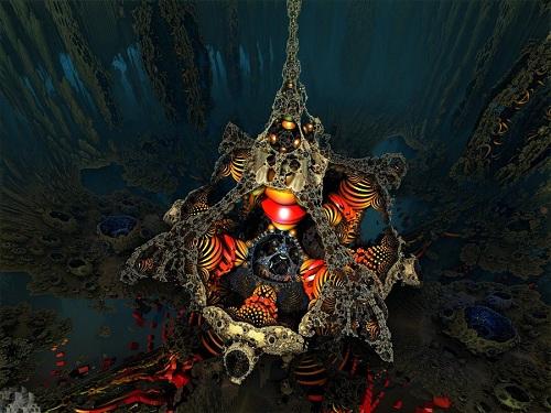 3d fractal amazing
