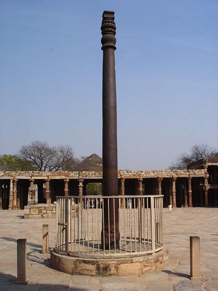 Железный-столб-в-Индии