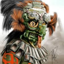 Жрец-в ритуальной маске