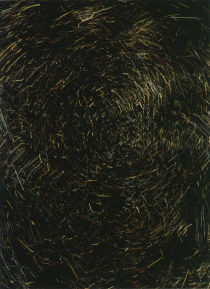 fig. 4 (turn) Chromogenic paper, scratched, Marco Breuer, 2007