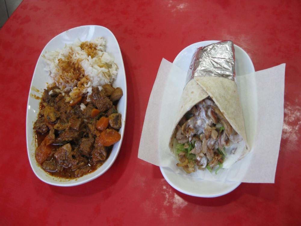 IMG_7271 - гирос и мясо с грибами и рисом в курдском ресторане.JPG