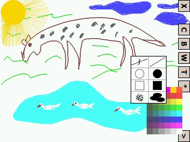 рисовалка для детей на кпк