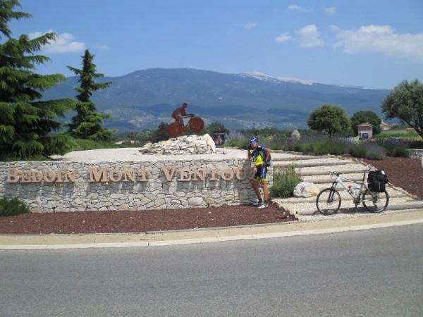 5. Гора, я и велосипед