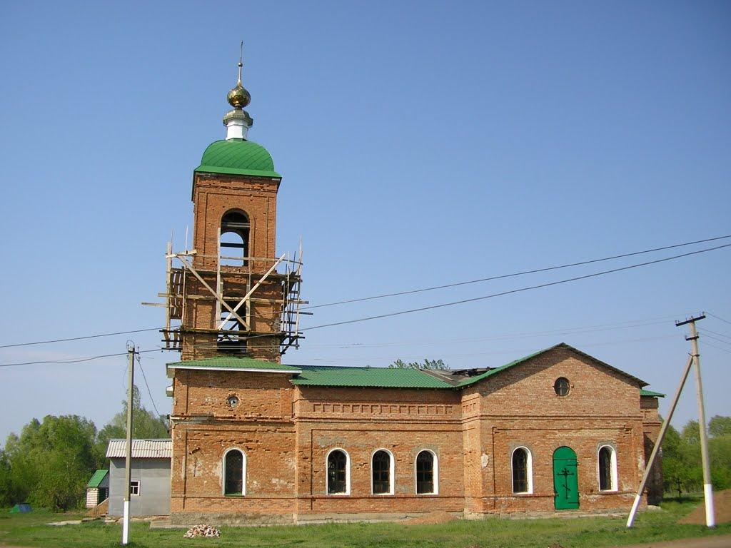 6. Косма-Домианская церковь, на самарке с.Съезжее